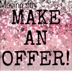 Other - Offers considered and usually taken!